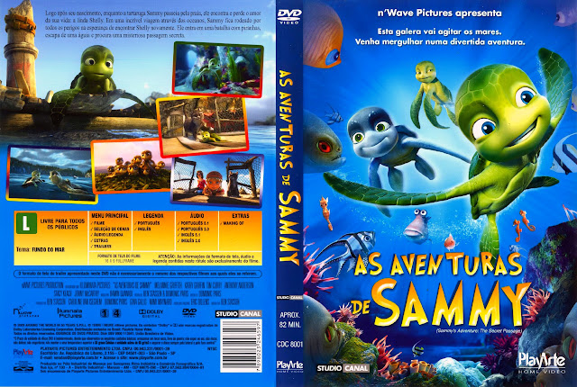 Capa DVD AS AVENTURAS DE SAMMY
