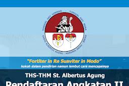 Pendaftaran Angkatan Ke- 2 THS-THM