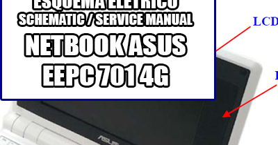 Manual de Serviço Notebook Laptop Netbook Asus Eee Pc 701 4G