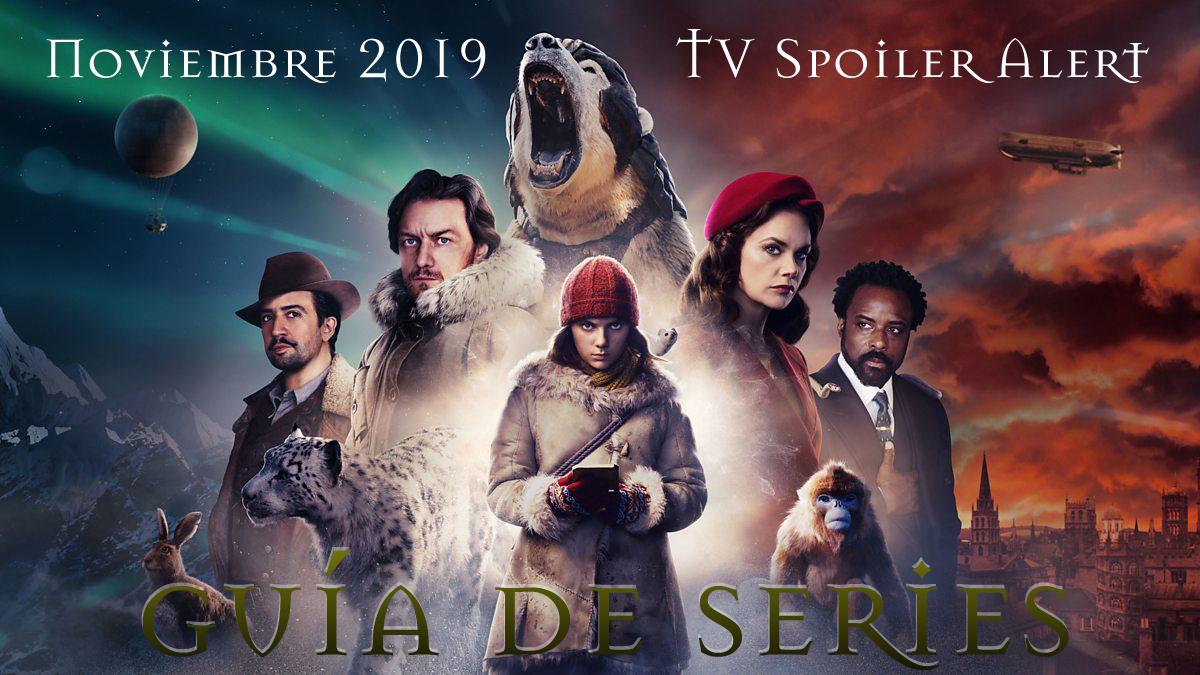 Guía de estrenos y regresos de series en noviembre de 2019