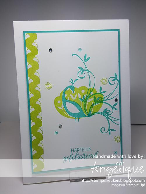 de Stempelkeuken StampinÚp! producten koop je bij de Stempelkeuken http://stempelkeuken.blogspot.com #stempelkeuken #stampinup #stampinupnl #saleabration #beautifulpeacock #peacock #creative #handmadecards #handmade #kreativ #papercrafting #papercraft #papier #stempelen #stamping #bermudabay #lemonlime #lemonlimetwist #dsp #diy #cardmaking #denhaag #thehague #westland #delft #workshop #gratis #freeproduct