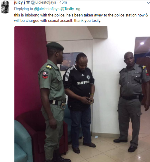 Taxify-driver-arrested-after-sexually-assaulting-a-lady-4