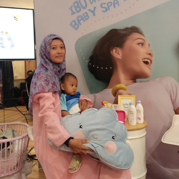 Baby Spa di Rumah?  Why Not!