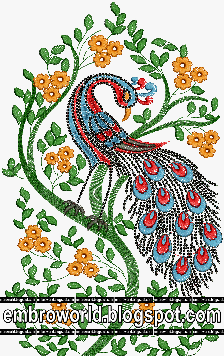 Indo Western Patch Designs For Garment And Kurtis Latest Embroidery