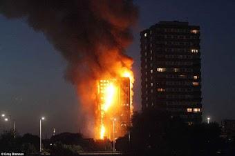 Vụ cháy nhà lớn nhất lịch sử Anh: Như thể lửa địa ngục