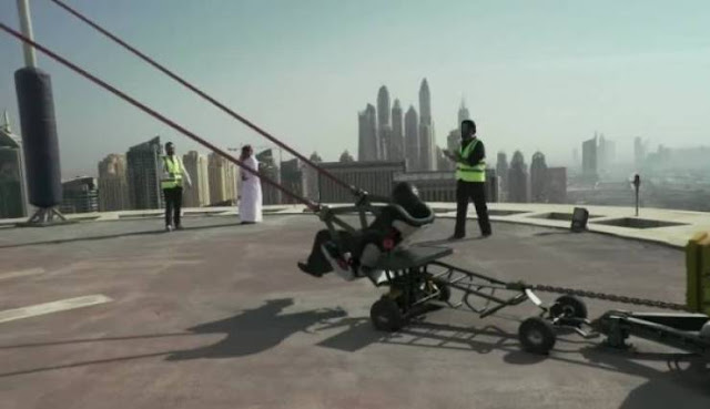 شاهد.. الكشف عن حقيقة رميّ شخص بالمقلاع في دبي! و هذه هي حقيقة وفاته!