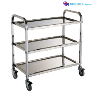Troli Makan 3 Susun | Food Trolley