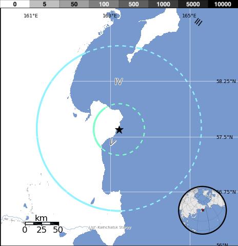 Kamchatka Peninsula On World Map.Sciency Thoughts Earthquake Shakes The Kamchatka Peninsula
