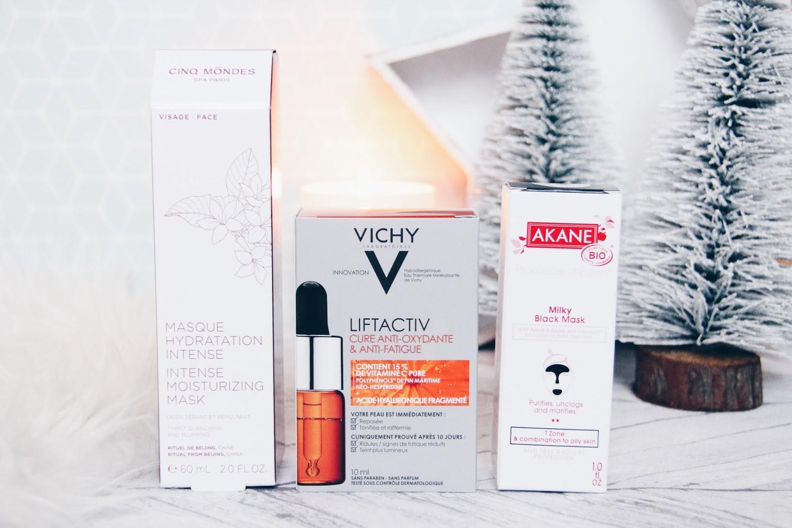 3 produits pour booster notre peau en hiver!