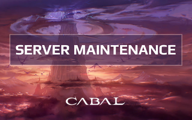 Server Maintenance | Jan 24 2019