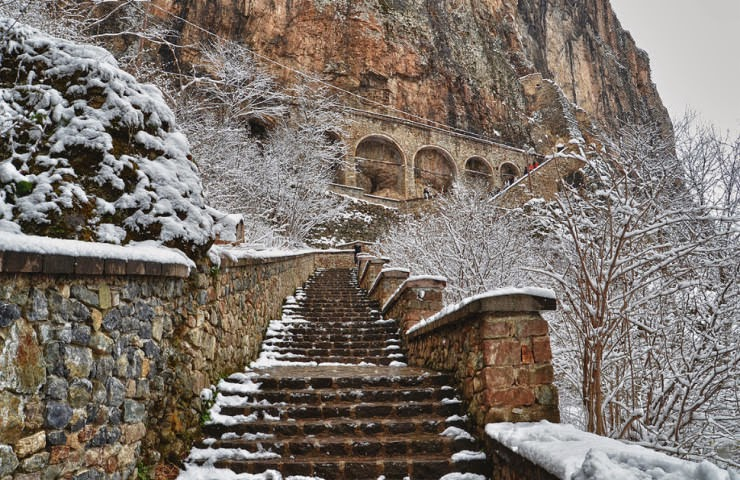 Sumela A 1600 Year Old Greek Monastery Carved Into A