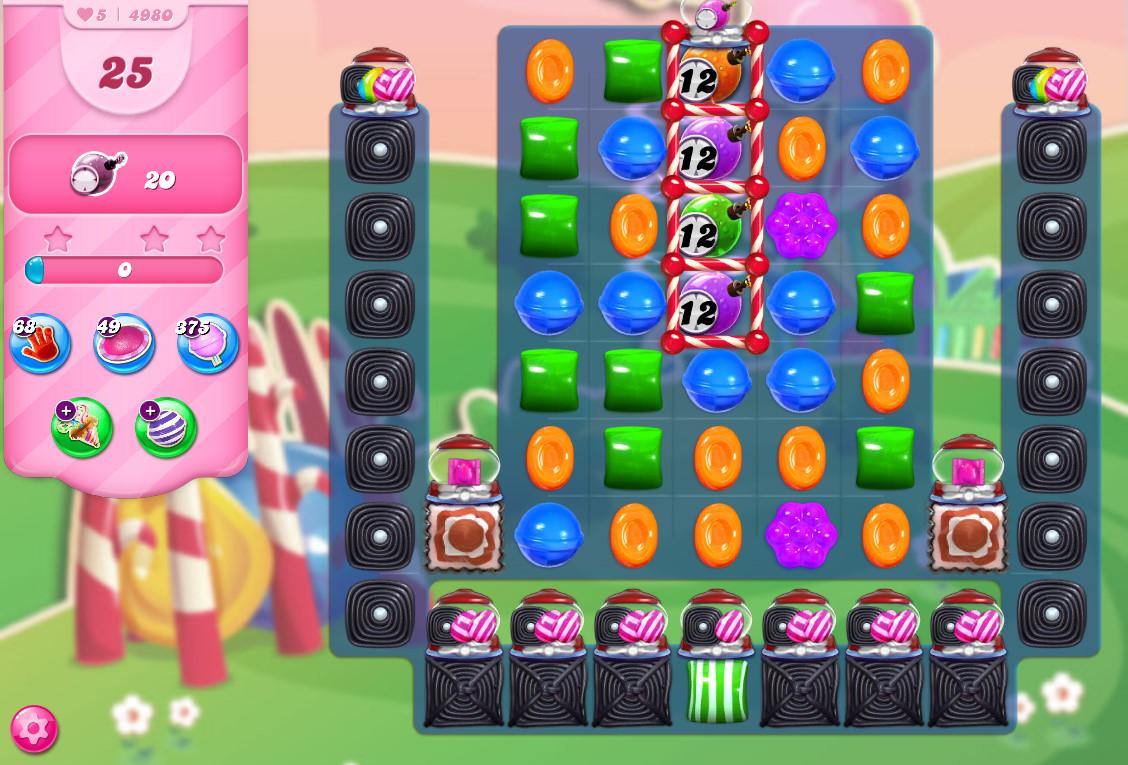 Candy Crush Saga level 4980