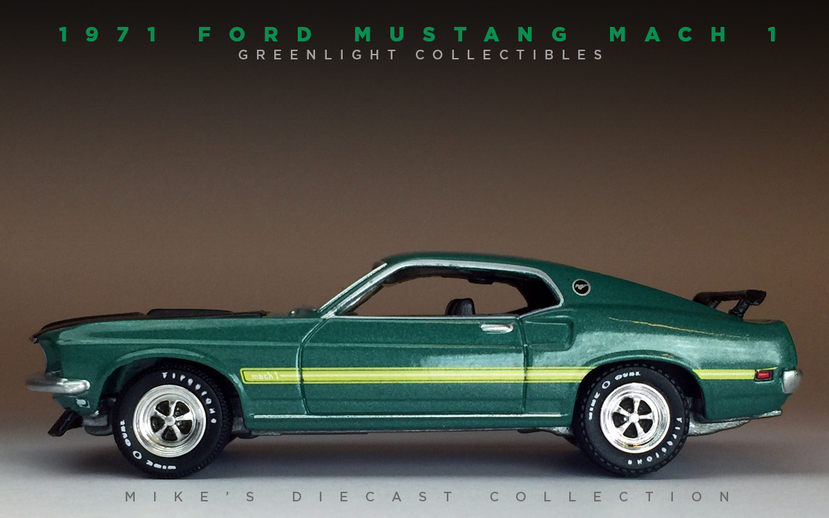 mike 39 s diecast collection 1971 ford mustang mach1. Black Bedroom Furniture Sets. Home Design Ideas