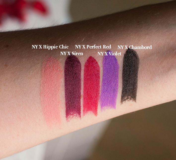 NYX lipstick review