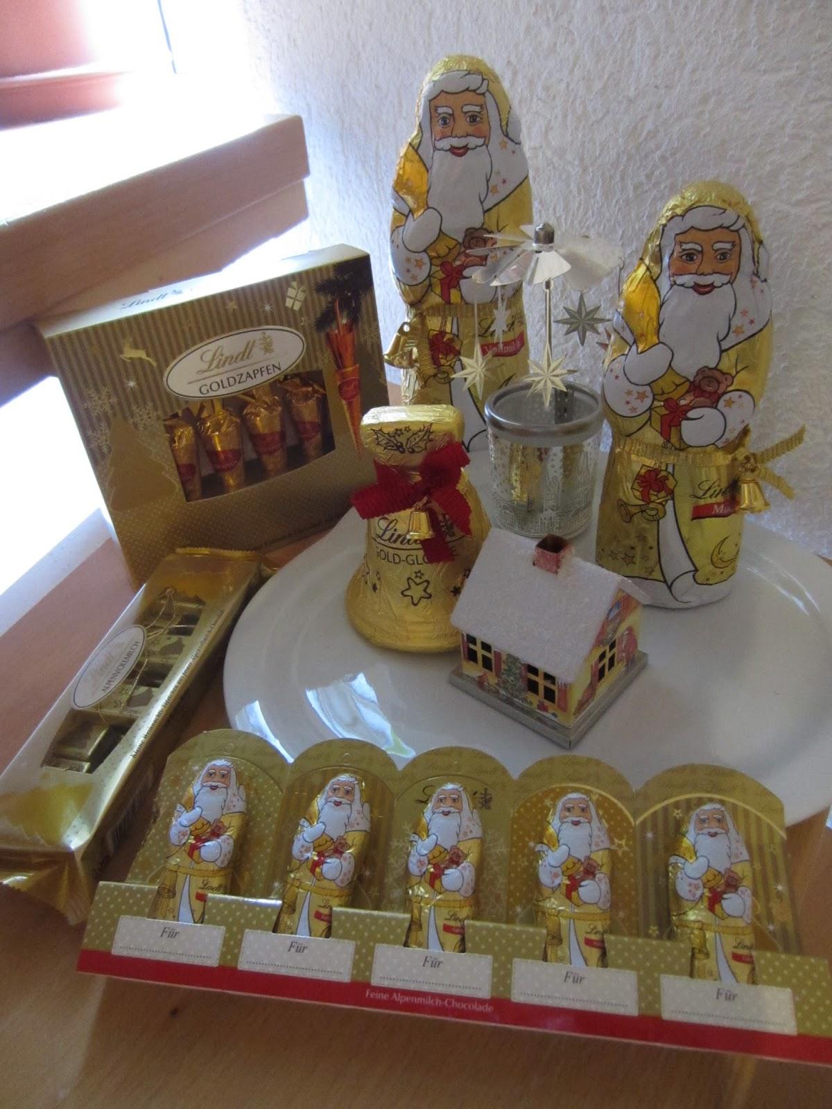 tiggis welt goldene weihnachten mit lindt. Black Bedroom Furniture Sets. Home Design Ideas