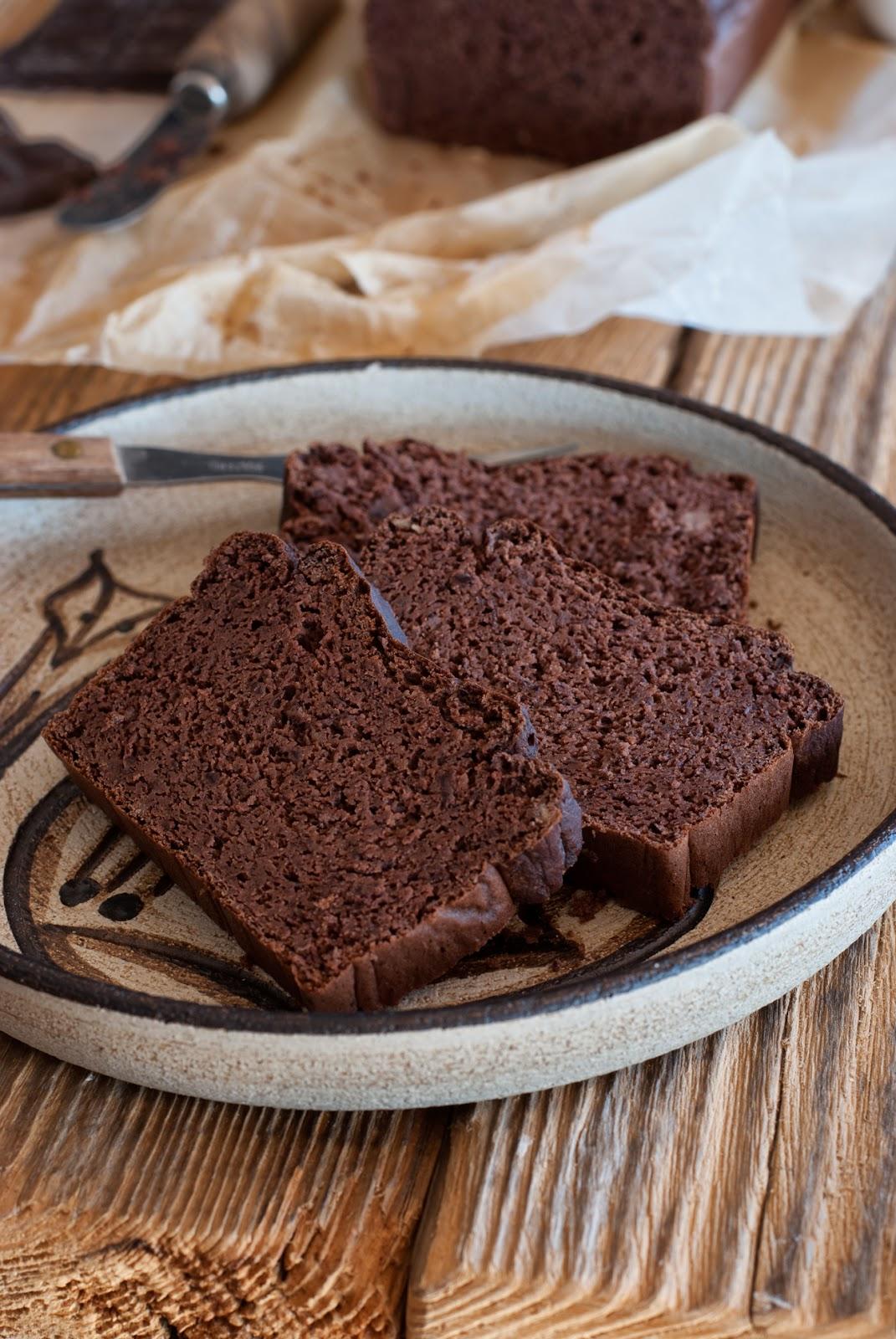 Bezglutenowe ciasto czekoladowe z fasolą