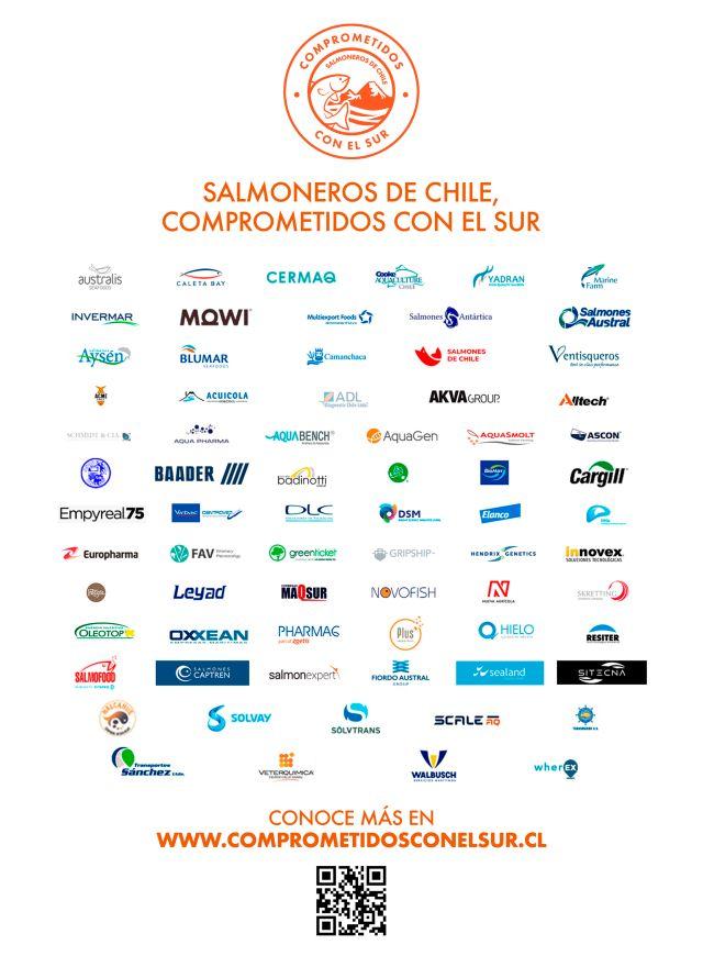 Las empresas tras la cruzada salmonera para combatir el COVID-19 en el Sur