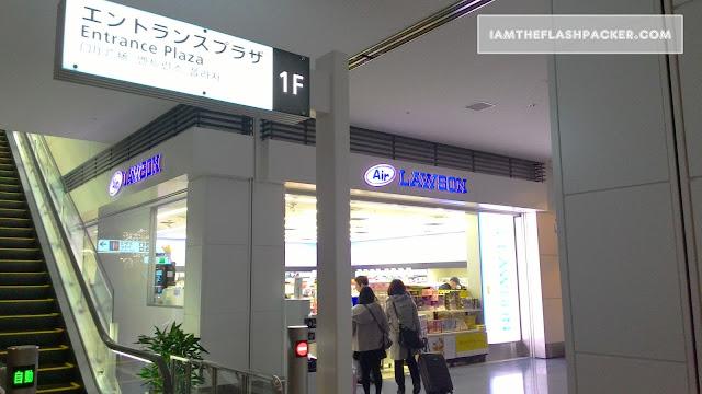 Sleep at Haneda Airport Tokyo - Lawson Store
