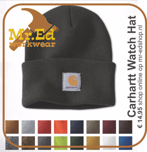 Carhartt Watch Hat A18 Muts Beanie €14,95