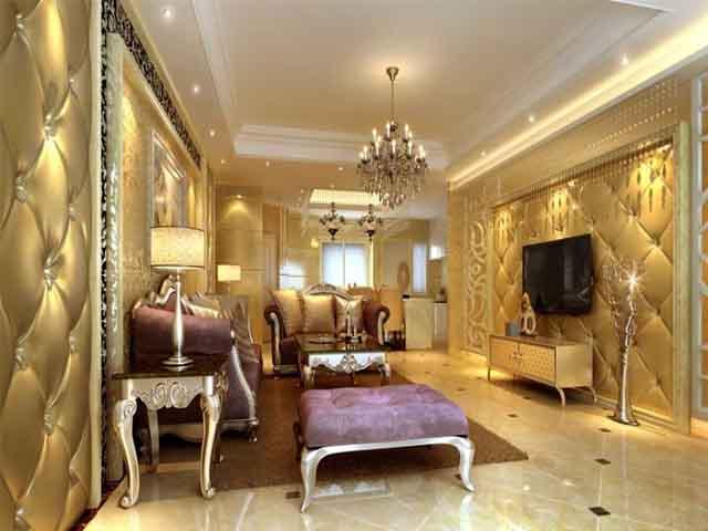 64 Desain Interior Ruang Tamu Mewah Nan