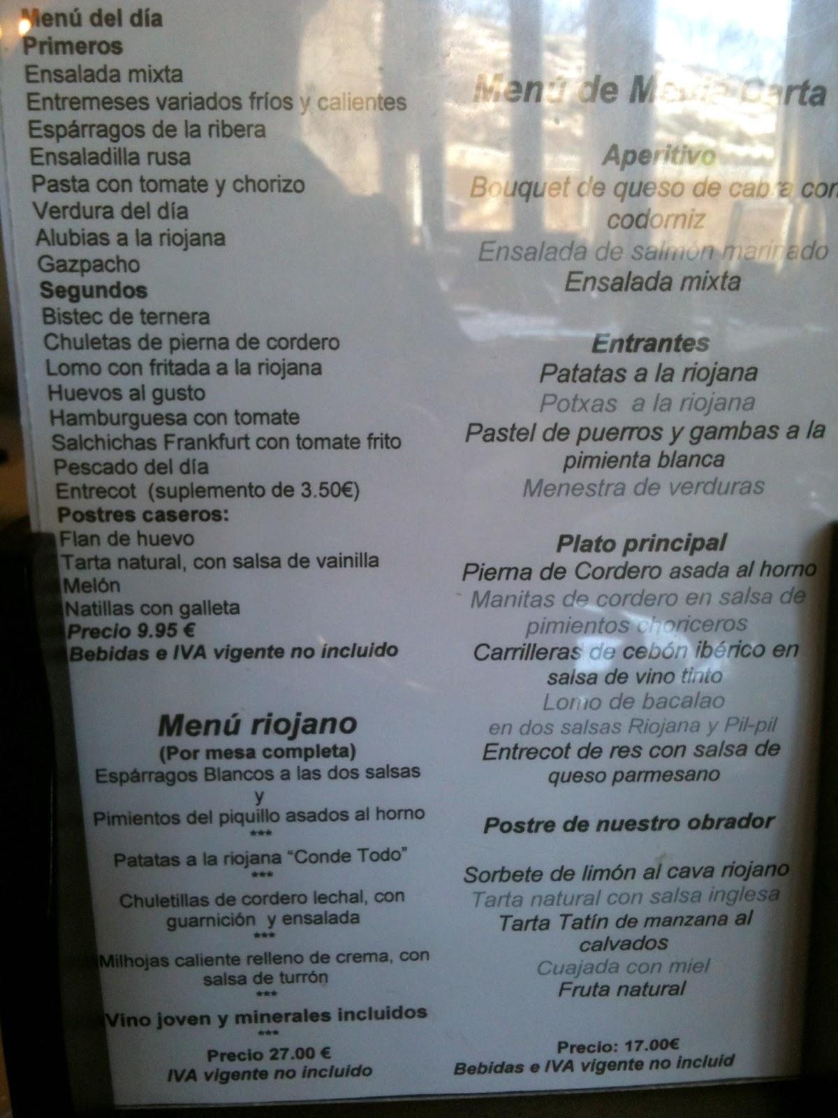 Restaurante Marixa Laguardia