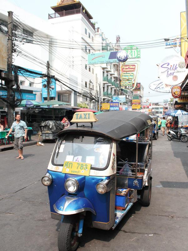 Tuktuk Khao San Road Bangkok