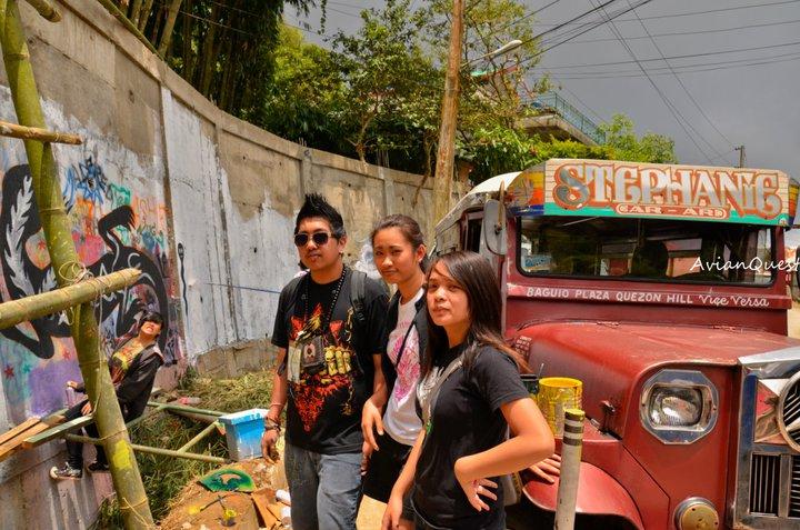 Tamawan Village Making of a Graffitti Mural Baguio City Philippines 56