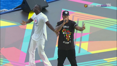 AKON, DAVIDO, DIAMOND PLATNUMZ AND OTHERS PERFORM AT AFCON2017 OPENING CEREMONY