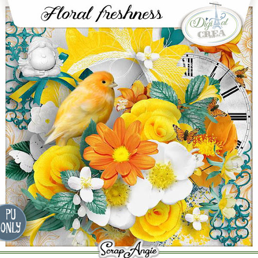Floral freshness kit & collection