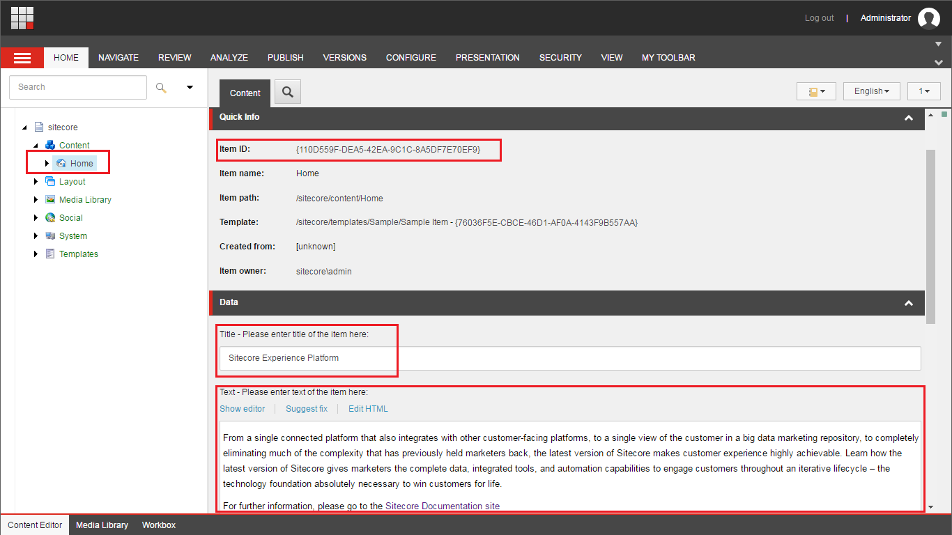 Learning lessons for Sitecore, C#,  NET, SQL Server: Sitecore