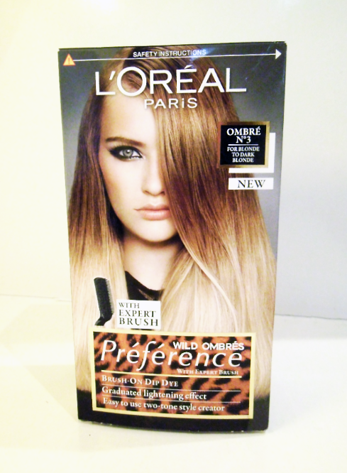 L Oreal Preference Wild Ombre Kit No 3 Artistic Fascination