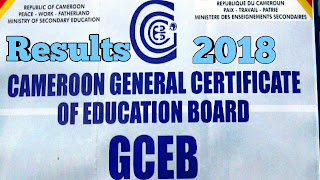 GCE Results 2018 Cameroon General Certificate of Education released