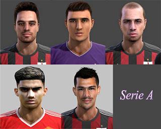 Facepack Serie A TIM 2016 Pes 2013 By Danillo Sillva