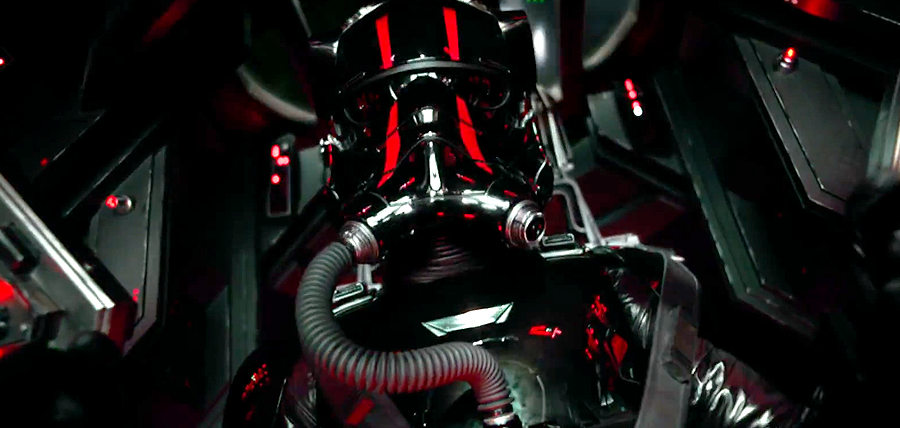 Star Wars: The Force Awakens Trailer: Pilot Tie-Fighter