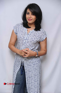 Tamil Kannada Actress Kavya Shetty Stills at Smile Please Movie Press Meet  0003.jpg