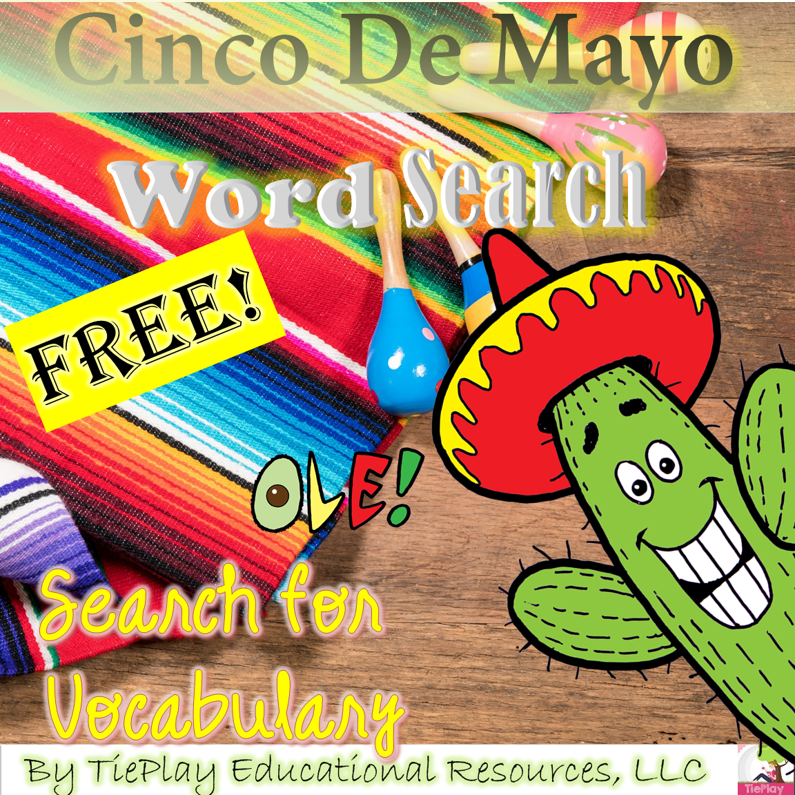 Tieplay Educational Resources Llc Free Cinco De Mayo