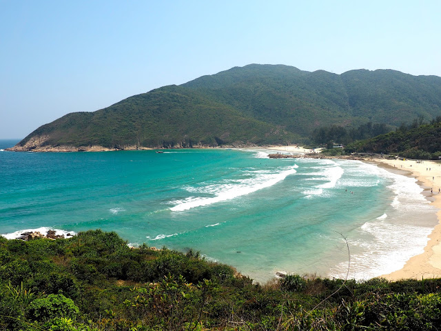 Sai Wan beach, Sai Kung, New Territories, Hong Kong
