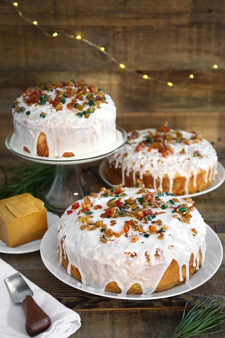 Norwegian Christmas Bread (Julekage) | Sprinkle Bakes