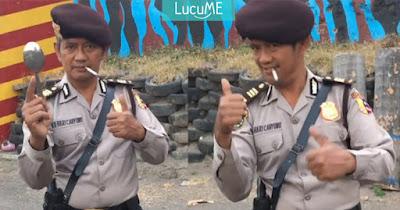 Video 'Masuk Pak Eko' Viral, Ini Sosok Polisi yang Jago Melempar