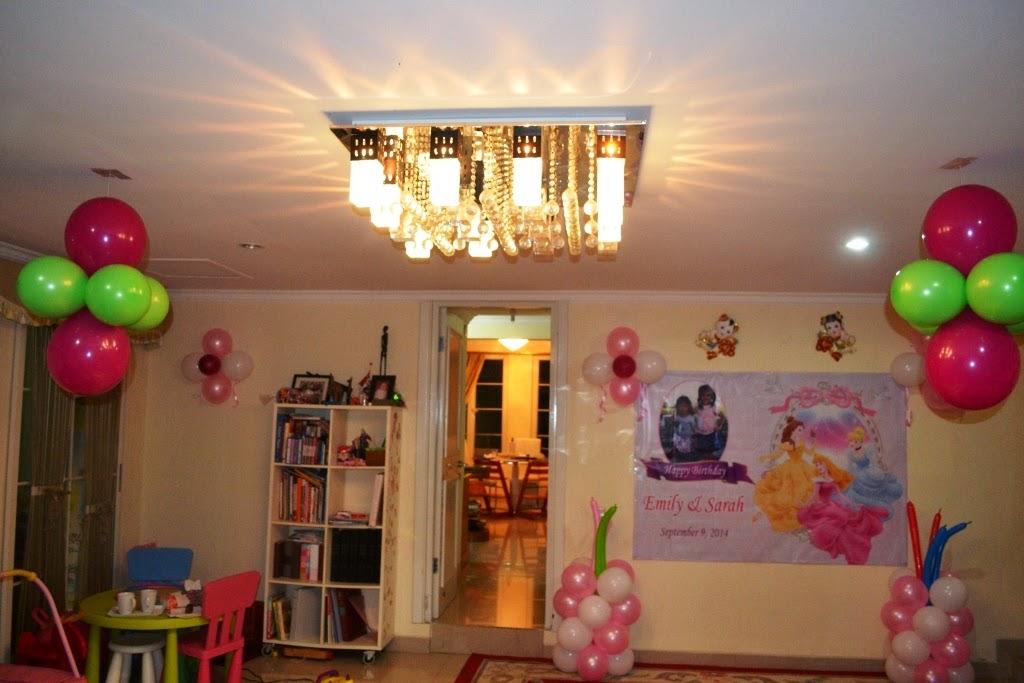 Dekorasi Ultah Anak Di Rumah Sederhana Rumah Unieq