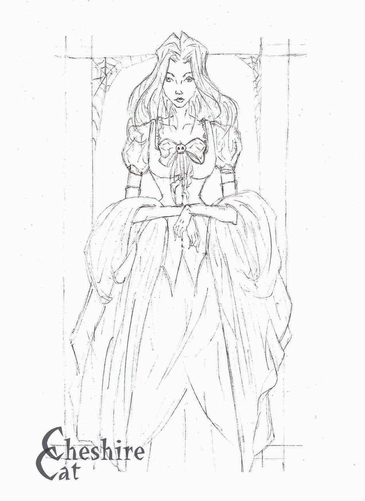 African Queen Coloring Pages Sketch Coloring Page