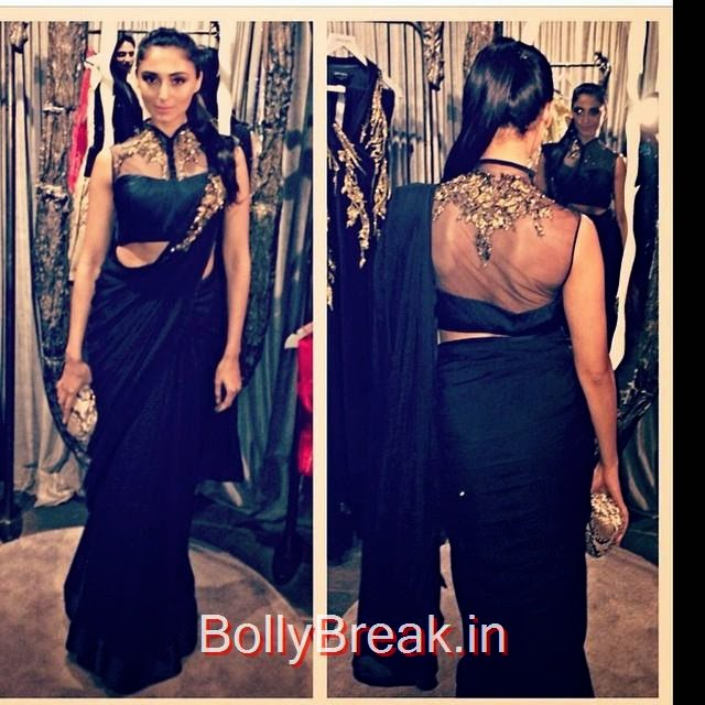 pernia qureshi looked gorgeous in a black draped saree with mesh embroidered blouse by @gauravguptaofficial per nia qureshi , gaurav gupta , saree , black , embroidery , indian designer , fashion ista , stylist a , model , dancer , ootd , o ot n , lookbook , look of theda y , streets tyl e , fashion blogg ers , hair and makeup , indian fashion news ,, Hot Pics Of Pernia Quereshi
