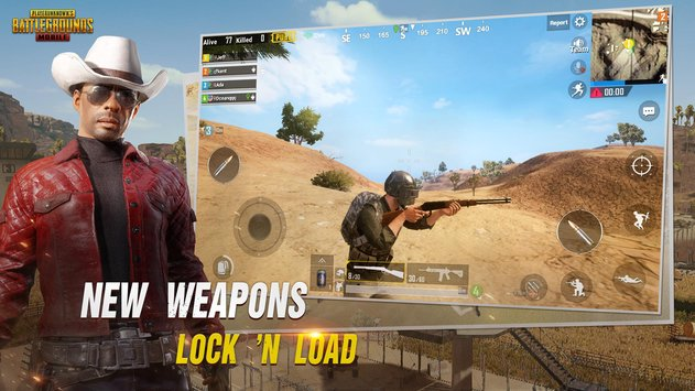 PUBG mobile v.0.7.0 update with a new war mode for Android and IOS. PUBG was showing site under maintenance bring  new update for android and IOS also with a new weapon.