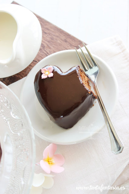 Tutorial Cobertura Espejo de Chocolate