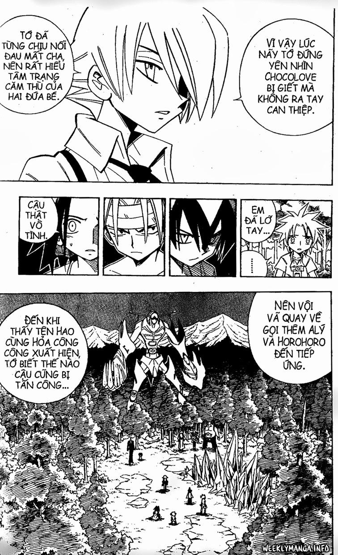 Shaman King [Vua pháp thuật] chap 197 trang 19