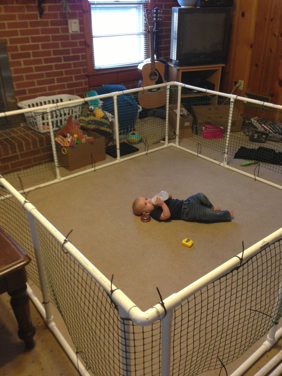 A Day In The Life Of Me Diy Expandable Baby Pen