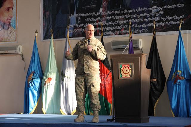 Ο McMaster στη στρατιωτική ακαδημία του Αφγανιστάν