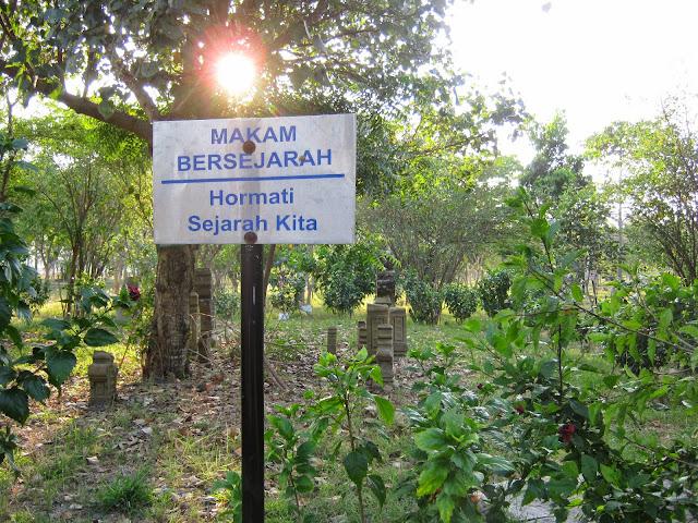 Cantiknya Taman Walikota Nusantara Banda Aceh