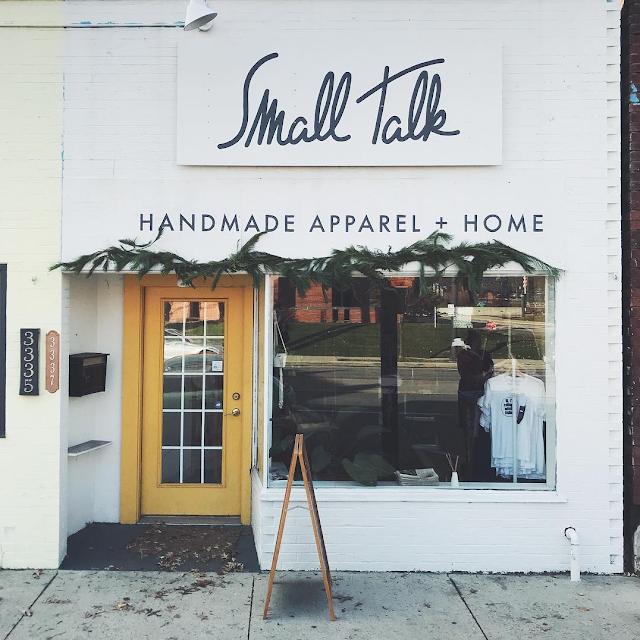 Small Talk Handmade Apparel and Home