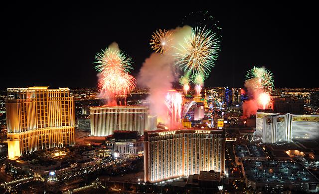 Ano Novo em Las Vegas
